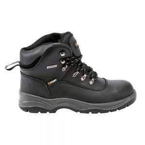 FF100 Fort Footwear Knox Boot Black Side